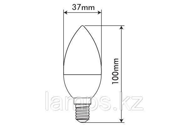 Светодиодная лампа OPTILED/C37/E14/3.5W/4000K/SMD/CBOX
