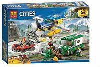 Конструктор аналог лего Ограбление у горной речки BELA 10864 LEGO 60175, фото 1