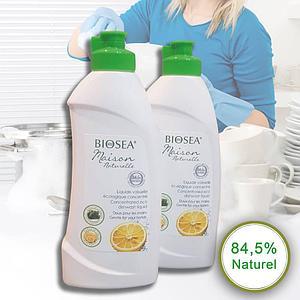 Средство для мытья посуды BIOSEA (Биоси) Maison Naturelle, 250 мл (Оригинал - Франция)