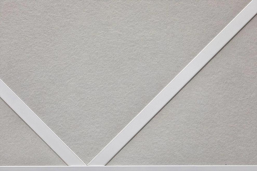 Акустические панели пожаробезопасные 1200х600х20 White
