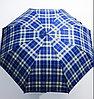Зонт мужской складной MIRACLE клетчатый (полу-автомат), 122см.