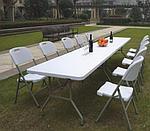Стол складной пластиковый длинный, фото 3