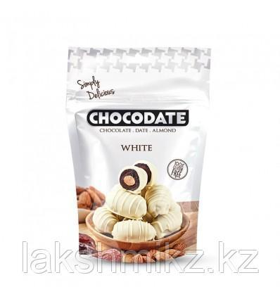 Chocdate Финики в белом шоколаде,100 грамм