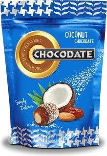 Chocodate финики в шоколаде с кокосовой стружкой ,100 грамм