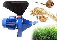 Измельчитель зерна и корнеплодов (корморезка) Бизон-3( Зерно, корнеплоды, сено), фото 4