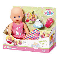Zapf Creation my little Baby born 825-341 Пупс для игры в воде, 32 см