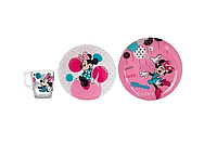 Набор Luminarc Disney Party MInnie 3 пр.