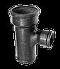 Тройник прямой чугунный канализационный 90*50*50
