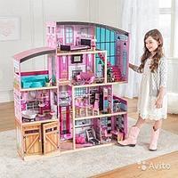 Деревянный домик KidKraft Shimmer с 30 аксессуарами в комплекте