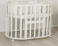 Кроватка-трансформер UOMО DA VINCI 7 в 1 Белый, фото 1