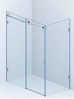 Раздвижная Угловая стеклянная душевая,Одна дверь. Стекло безопасное 8мм