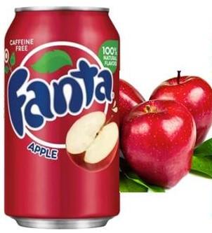 Fanta Apple Красное Яблоко 0,355 литра