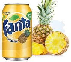 Fanta Pineapple  Ананас 0,355 литра США