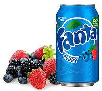 Fanta berry Ягоды 355ml США (12шт-упак)