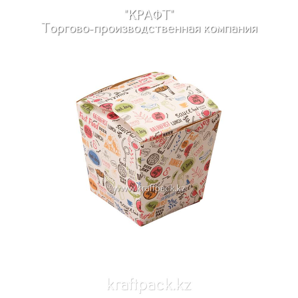 Коробочка для плова, лагмана, лапши WOK ENJOY 560мл DoEco (105/420)
