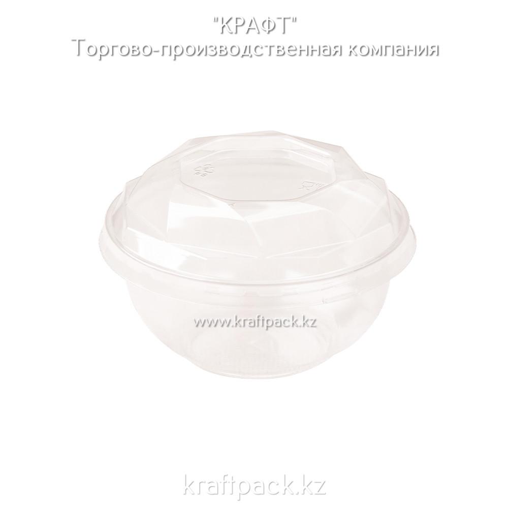 Креманка прозрачная для десертов с крышкой «КД-117» 110*45*200 DoEco (100/1000)