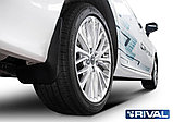 Комплект передних брызговиков, RIVAL, Toyota Camry XV70 2018-, фото 3