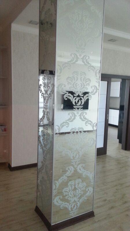 Рисунки на стекло и зеркала, фотопечать