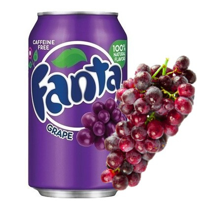 Fanta Grape Виноград 0,355 литра