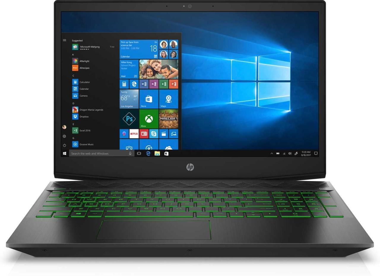 Ноутбук HP Notebook/Pavilion Gaming/15-cx0057ur/Core i5-8300H quad/15.6 FHD IPS /4GB RAM/1TB HDD/Nvidia GeForc