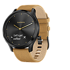 Смарт-часы Garmin HR Premium Black-Tan