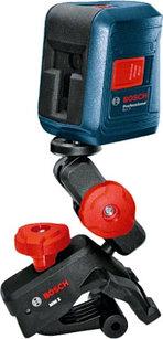 Лазерный профессиональный нивелир Bosch GLL 2 с клипсой MM2. Внесен в реестр СИ РК