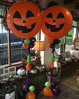 Стойки из шаров на Halloween, фото 1