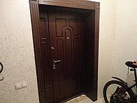 Двери металлические с накладкой из МДФ