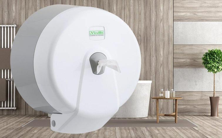 Диспенсер для туалетной бумаги (белый), фото 2