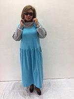 Платье дизайнерское с заниженной талией, фото 1