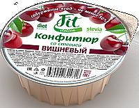 Конфитюр FitDelice вишнёвый со стевией