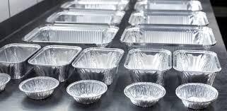 Алюминиевая одноразовая посуда