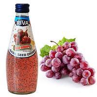 Напиток Семена базилика с ароматом Красного Винограда 290 мл