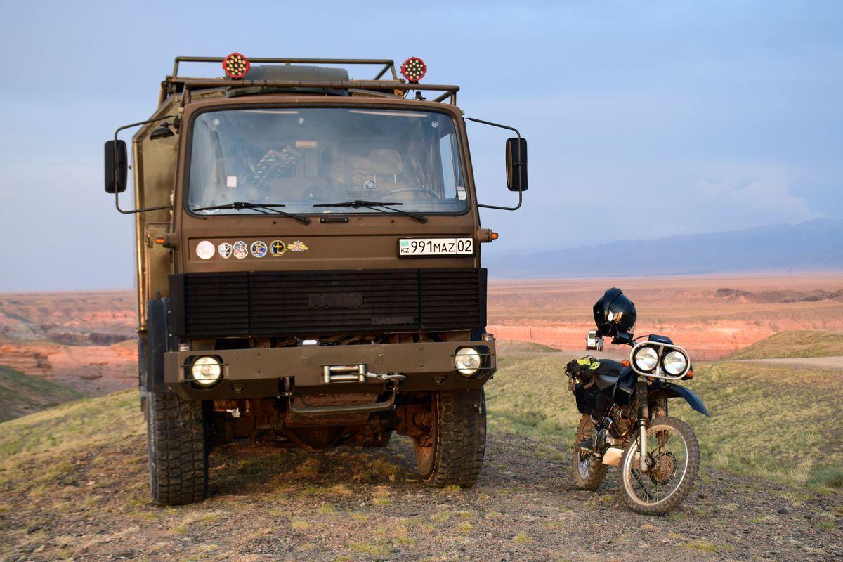 Чарынский национальный парк - тур в автодоме