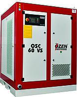 Винтовой компрессор OZEN с частотным преобразователем Модели OSC 60V