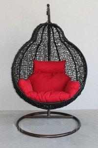 Подвесное кресло плетеное, фото 2