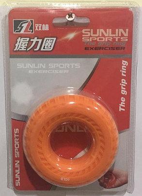 Кистевой силиконовый эспандер (бублик) Sunlin Sports 60 LB 1311, фото 2