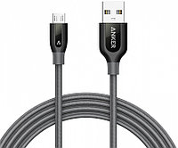 Кабель Anker Powerline+ 1.8 м (A8143HA1) USB - microUSB (Grey)