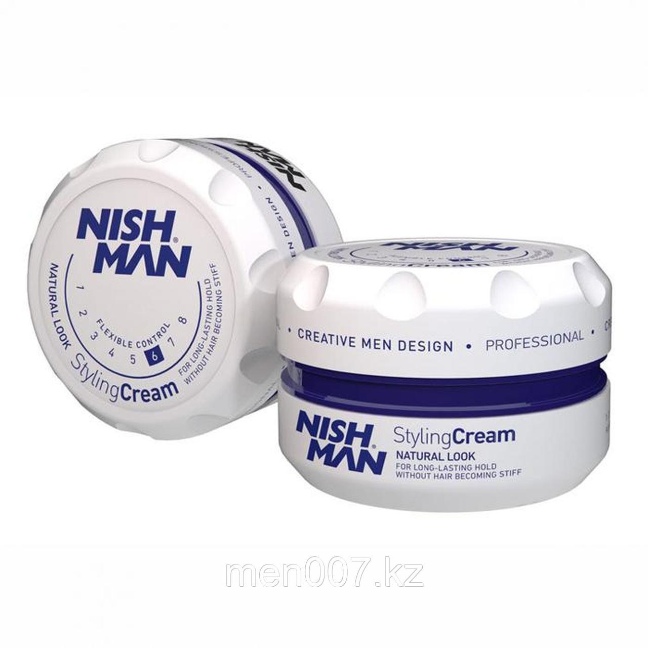 Nishman Styling Cream «Подвижный контроль» (Крем для укладки волос) 150 мл.