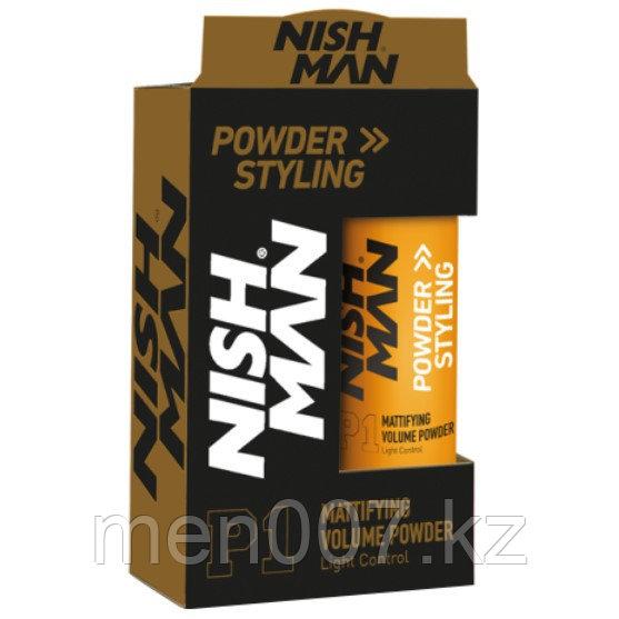 Nishman Powder Styling Wax (Матирующая пудра для придания объема) 20 г..