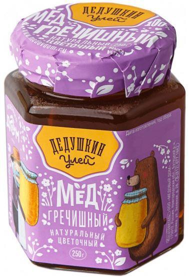 Мед натуральный цветочный «Гречишный»