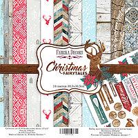 Набор бумаги Christmas fairytales 30,5 на 30,5 см