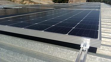 Сетевая солнечная станция 14,4 кВт в г. Актау 10