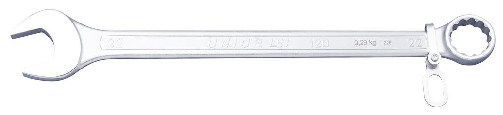 Ключ комбинированный удлинённый (полированные головки), для безопасной работы на высоте