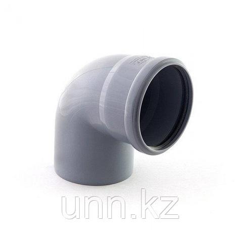 Отвод кан. 87° левый 110-50 Jakko, фото 2