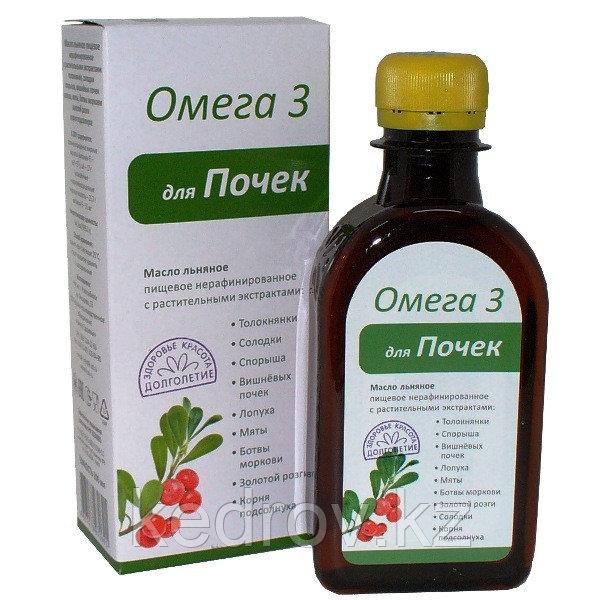 Масло льняное ДЛЯ ПОЧЕК 200 мл (Компас здоровья)