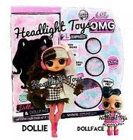 L.O.L. Surprise! O.M.G. Winter Disco Dollie & SisterЛОЛ Модная кукла Долли и ее сестра