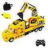 Truck Trailblazer R/C Trough Tipper Спецтехника Радиоуправляемый Грузовик с ковшом, звук и свет