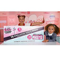 Большой набор Лол из 14 кукол 70 сюрпризов L.O.L. Surprise Amazing Surprise with 14 Dolls