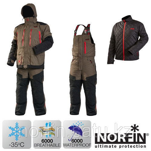 Костюм для зимней рыбалки Norfin EXTREME 4 02 р.S (44-46)